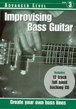 RGT - Improvising Bass Guitar - Advanced Book/CD Set Sheet Music