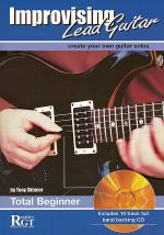 RGT - Improvising Lead Guitar -Total Beginner Book/CD Set Sheet Music