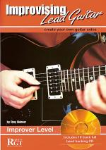 RGT - Improvising Lead Guitar - Improver Level Book/CD Set Sheet Music