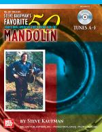Steve Kaufman's Favorite 50 Mandolin, Tunes A-F Book/CD Set Sheet Music