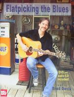Flatpicking the Blues Book/CD/DVD Set Sheet Music