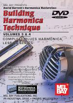Building Harmonica Technique Volume 3 & 4 DVD Sheet Music