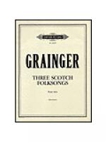 Scotch Folksongs Sheet Music