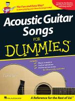 Acoustic Guitar Songs for Dummies Sheet Music