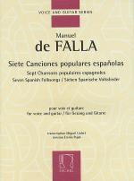 Siete Canciones Populares Espanolas Sheet Music