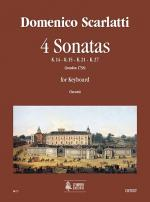 4 Sonatas (K. 14, 15, 21, 27) Sheet Music