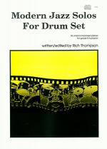 Modern Jazz Solos For Drum Set Sheet Music