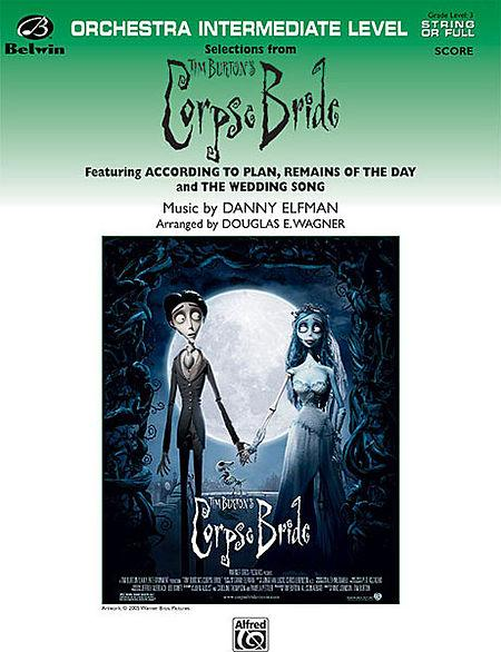 Selections form Tim Burton's Corpse Bride Sheet Music