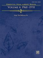 The Essential Home Library Series, Volume 4: 1960-1970 Sheet Music