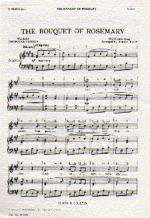 The Bouquet Of Rosemary Sheet Music
