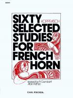 Sixty Selected Studies for French Horn-Bk. II Sheet Music