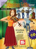 The American Fiddle Method, Volume 1 - Viola Book/CD Set Sheet Music