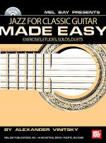 Jazz for Classic Guitar Made Easy Book/CD Set Sheet Music