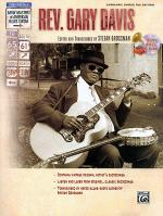 Stefan Grossman's Early Masters of American Blues Guitar: Rev. Gary Davis Sheet Music