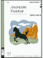 American Frontier Sheet Music