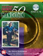 Steve Kaufman's Favorite 50 Mandolin, Tunes G-M Book/CD Set Sheet Music