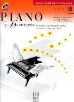 Piano Adventures Level 2B - Gold Star Performance with CD Sheet Music