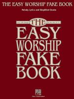 The Easy Worship Fake Book Sheet Music