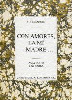 Obradors: Con Amores, La Mi Madre Sheet Music