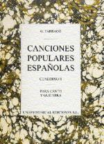 Tarrago: Canciones Populares Espanolas Cuaderno III Sheet Music