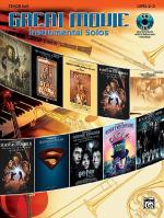 Great Movie Instrumental Solos - Tenor Sax (Book & CD) Sheet Music