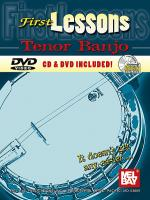 First Lessons Tenor Banjo Book/CD/DVD Set Sheet Music