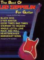 The Best Of Led Zeppelin For Guitar - Easy Guitar Sheet Music