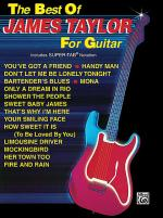 The Best Of James Taylor For Guitar - Easy Guitar Sheet Music