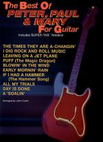 The Best of Peter, Paul, & Mary For Guitar - Easy Guitar Sheet Music