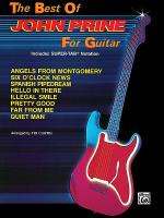 The Best Of John Prine For Guitar - Easy Guitar Sheet Music