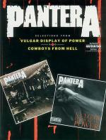 Selections From Vulgar Display Of Power And Cowboys From Hell Sheet Music