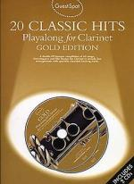 Guest Spot: 20 Classic Hits Playalong For Clarinet Gold Edition Sheet Music