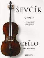 Sevcik for Cello - Opus 3 Sheet Music