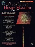 Music of Henry Mancini Plus One Alto Saxophone (Book/CD) Sheet Music
