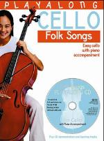 Playalong Cello - Folk Songs Sheet Music