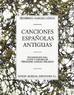 Canciones Espanolas Antiguas Sheet Music
