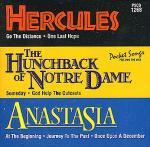Hercules/Hunchback/Anastasia (Karaoke CD) Sheet Music