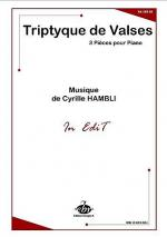 Triptyque De Valses Sheet Music