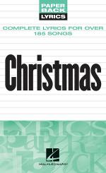 Christmas Lyrics Sheet Music