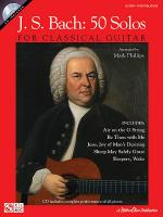 J.S. Bach - 50 Solos for Classical Guitar Sheet Music