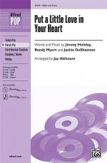 Put a Little Love in Your Heart Sheet Music