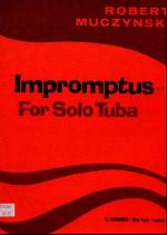 Impromptus For Solo Tuba Sheet Music
