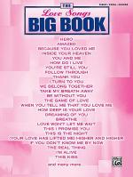 The Love Songs Big Book Sheet Music