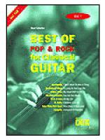 Best Of Pop & Rock for Classical Guitar 1 Sheet Music
