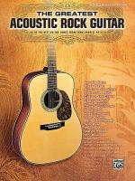 The Greatest Acoustic Rock Guitar Sheet Music