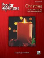 Popular Performer Christmas Sheet Music