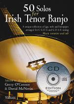 50 Solos For Irish Tenor Banjo Book/CD Set Sheet Music