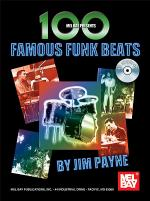 100 Famous Funk Beats Book/CD Set Sheet Music
