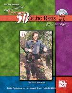 Steve Kaufman's Favorite 50 Celtic Reels for Mandolin, Tunes A-L Book/CD Set Sheet Music