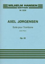 Axel Jorgensen: Suite for Trombone and Piano Op.22 Sheet Music